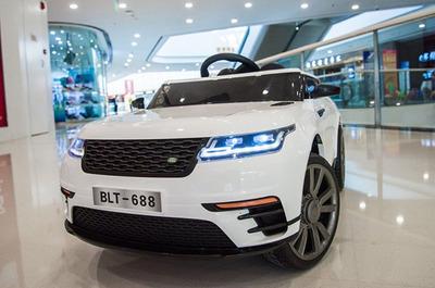 Range Rover Velar. Детский автомобиль на резиновых колесах.