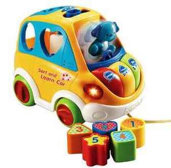 Развивающая игрушка Vtech Веселый автомобиль