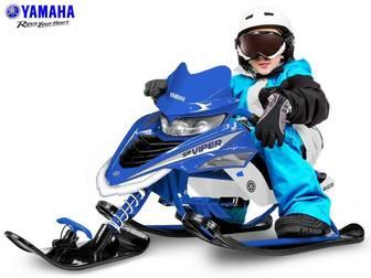 YAMAHA VIPER SNOW BIKE YMC17001X. Детский лицензионный снегокат.