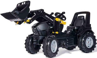 Rolly Toys Deutz Agrotron 7250 TTV Warrior 710348. Детский педальный погрузчик.
