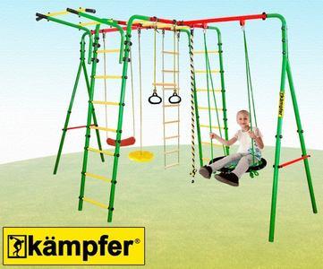 Kampfer Wunder. Уличный спортивно-игровой комплекс для детей.
