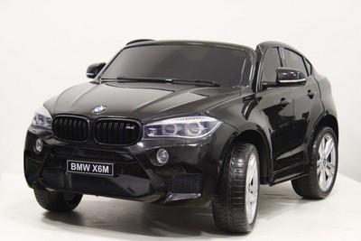 Двухместный BMW-X6-M-JJ2168 (ЛИЦЕНЗИОННАЯ МОДЕЛЬ) с дистанционным управлением