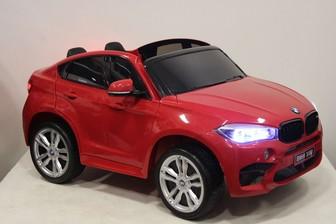 Детский внедорожник BMW-X6-M-JJ2168 (ЛИЦЕНЗИОННАЯ МОДЕЛЬ) с дистанционным управлением