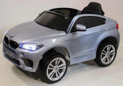 BMW X6M JJ2199. Лицензионный электромобиль на резиновых колесах.
