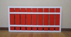 Забор фигурный окрашенный/неокрашенный CHZAF01/CHZAF01NO