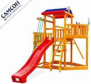 Скидка 22% на деревянные комплексы для дачи Самсон!